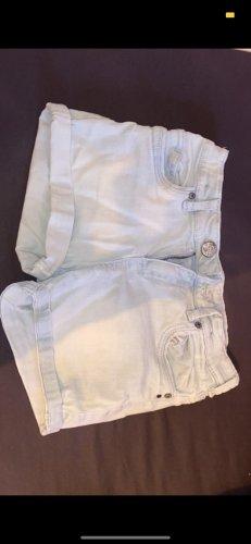 Hellblau/grüne Shorts C&A