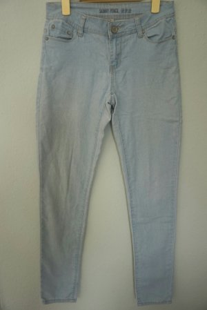 Hellblau Skinny Jeans in Gr. 36