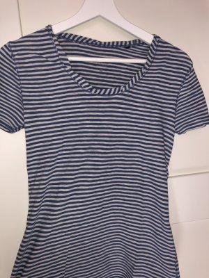 Hellblau-weiß gestreiftes Tshirt von Marc O'Polo