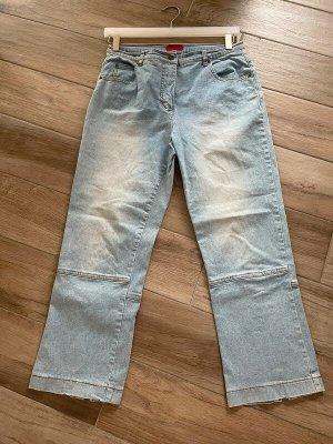 Hellblaue 7/8 Jeans von Jeans by Maxim, Gr. 40