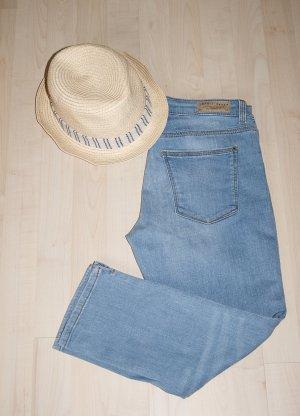 Esprit Jeans a 7/8 azzurro Cotone