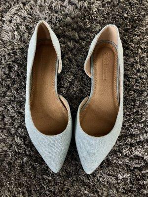 Asos Shoes Ballerina's met kant azuur