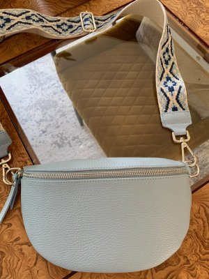 Börse in Pelle Crossbody bag multicolored leather