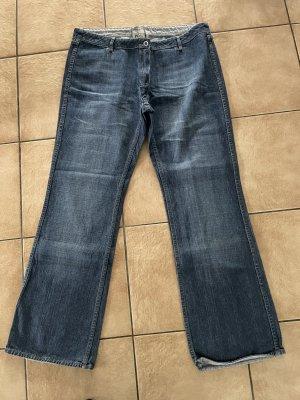 hellblaue / blaue Wendejeans / Jeans / Schlaghose / Schlagjeans / Bootcut von Arizona - Gr. 44 - neu
