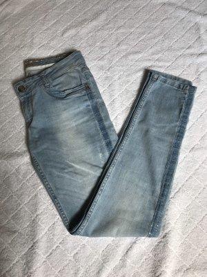 Blue Fire Tube jeans veelkleurig