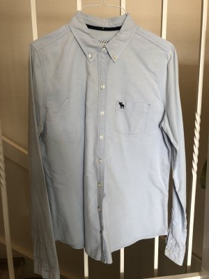 Abercrombie & Fitch Long Sleeve Blouse light blue
