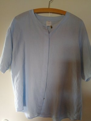 Bogner Linnen blouse lichtblauw