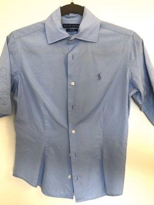Hellblaue Bluse Ralph Lauren Gr. 36