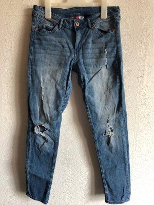 H&M Divided Boyfriend Jeans cornflower blue