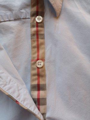hellblaue Burberry Bluse Größe S