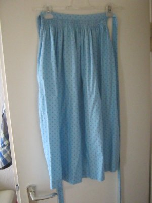 Traditional Apron light blue