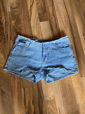 Hellblaue DKNY Jeans Hotpants, 36