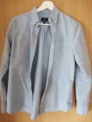 Hellblaue Gant Bluse