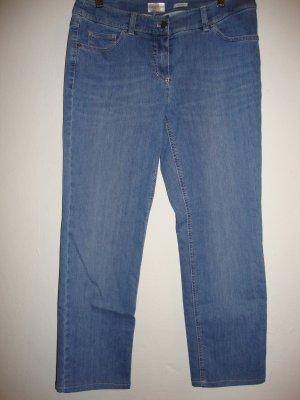 Gerry Weber Jeans stretch bleuet-bleu acier coton