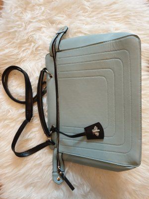 Hellblaue Handtasche / Umhängetasche