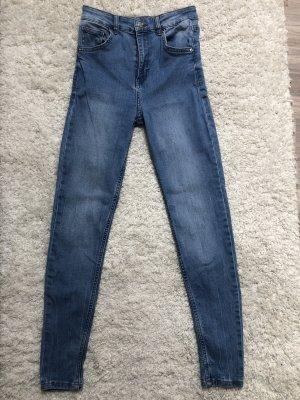 Bershka Jeans taille haute multicolore