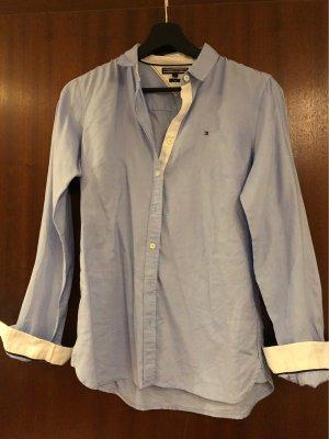 Hellblaue Hilfiger Bluse