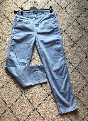 Closed Pantalone chino azzurro Cotone