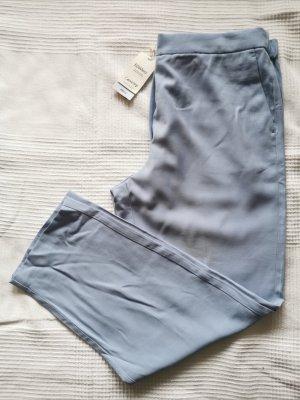 Mango Spodnie materiałowe jasnoniebieski-błękitny