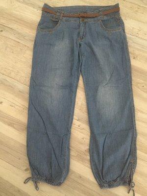 Baggy Jeans azure
