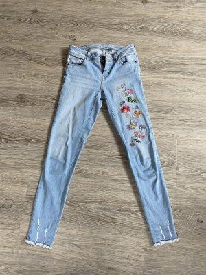 Zara Basic Spodnie biodrówki Wielokolorowy