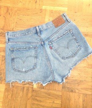 Hellblaue Jeans Shorts von Levi's