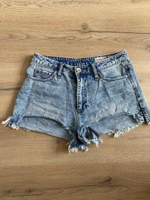 Vero Moda Pantaloncino di jeans azzurro-blu fiordaliso