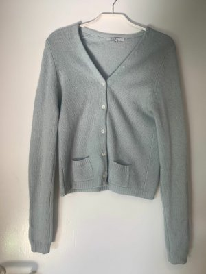 Allude Cardigan pale blue cashmere