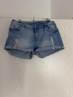 Monki Shorts azure-steel blue
