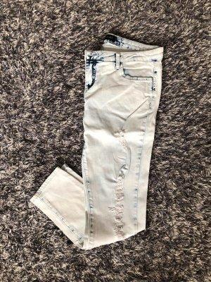 Hellblaue ripped Jeans 42