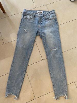 Zara Jeans a sigaretta azzurro