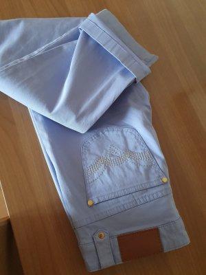 123 Paris Spodnie rurki jasny fiolet