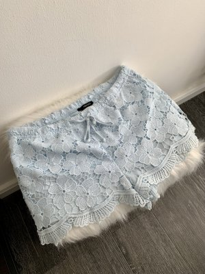 Forever 21 Pantalón corto azul celeste