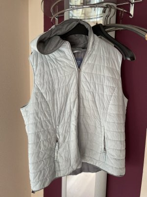 Samoon by Gerry Weber Quilted Gilet light blue