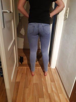 hellblaue Stretch Hose