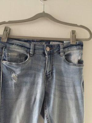 Jeansy ze stretchu błękitny