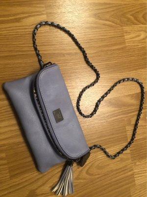 Hellblaue Tasche