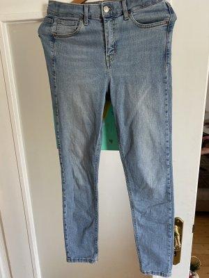 Hellblaue topshop skinny Jeans Größe 30/32