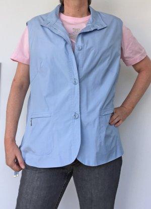 Basler Gilet de sport bleu clair polyester