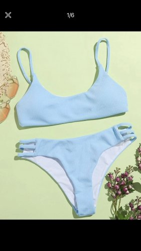 Sonstiges Bikini azuur