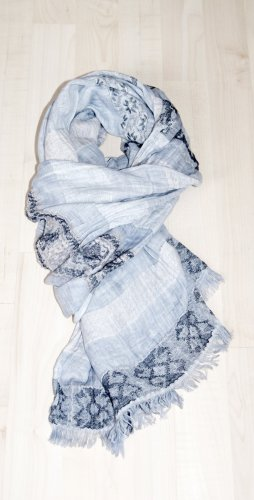 Street One Crinkle Scarf multicolored