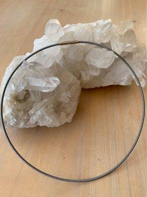 Pierre Lang Collier Necklace pale blue-silver-colored