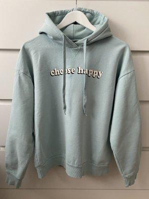 Hellblauer Hoddie Sweatshirt schwarz weiß von Set Urban Deluxe S 36