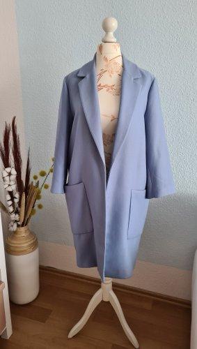 hellblauer Mantel, Übergangsmantel von Zara
