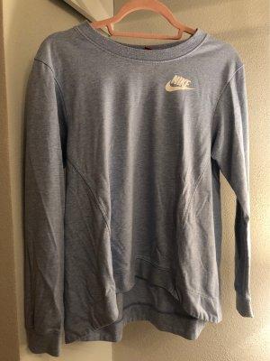 Hellblauer Nike Pullover
