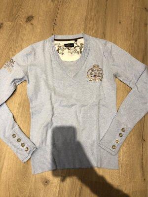 Hellblauer Pullover von L'Argentina