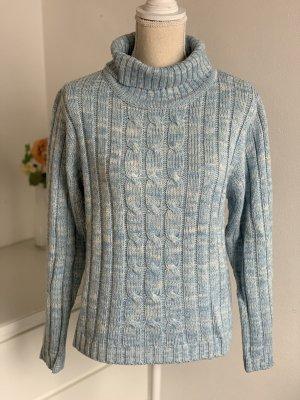 Hellblauer Rollkragenpullover Pullover von Karstadt