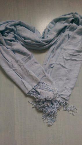 Pashmina bleu azur