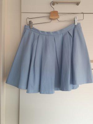 Zara Woman Spódnica z koła błękitny