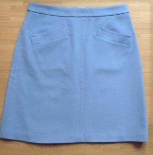 Strenesse Falda de lana azul celeste Lana